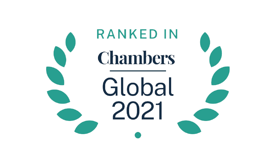 Chambers and Partners Rankings 2021 Announced