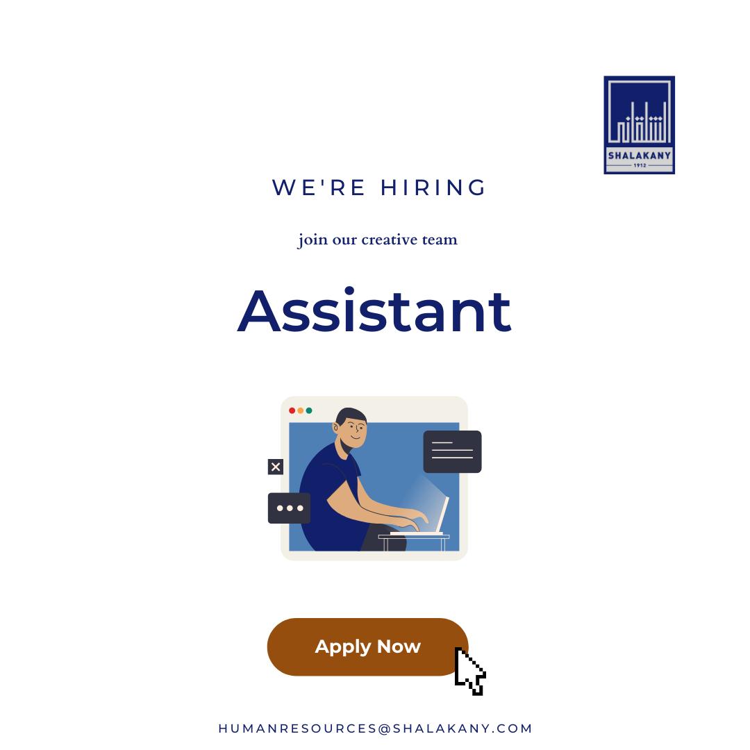 Assistant Vacancy